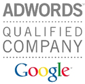 Selo Adwords Qualified Company Google - Clinks Agência Certificada Google Ads - Links Patrocinados - SEM
