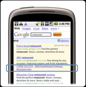 Requisitos de Publicidade do Google AdWords Para Extensões de Telefone