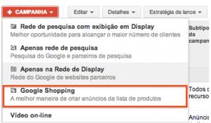 Transição PLA para campanhas do Google Shopping