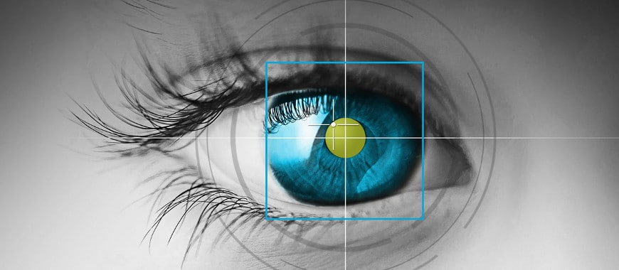 Eye-tracking Links Patrocinados dispositivos móveis