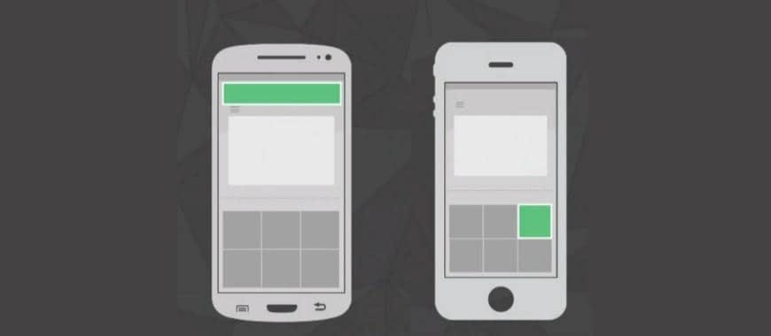 Links Patrocinados exibidos em dispositivos móveis são atualizados