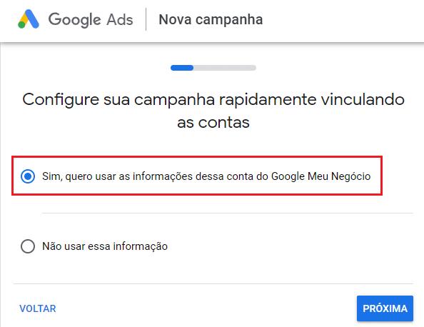 vincular gmn ao google ads