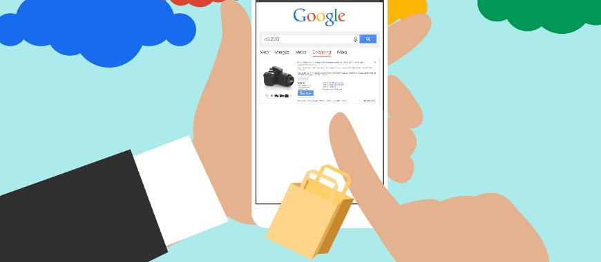 Botão Comprar no Google Shopping