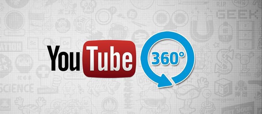 Vídeos em 360 graus ao anunciar no youtube
