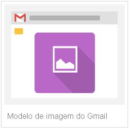 Modelo de imagem gmail