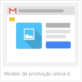 Modelo de promoção única gmail