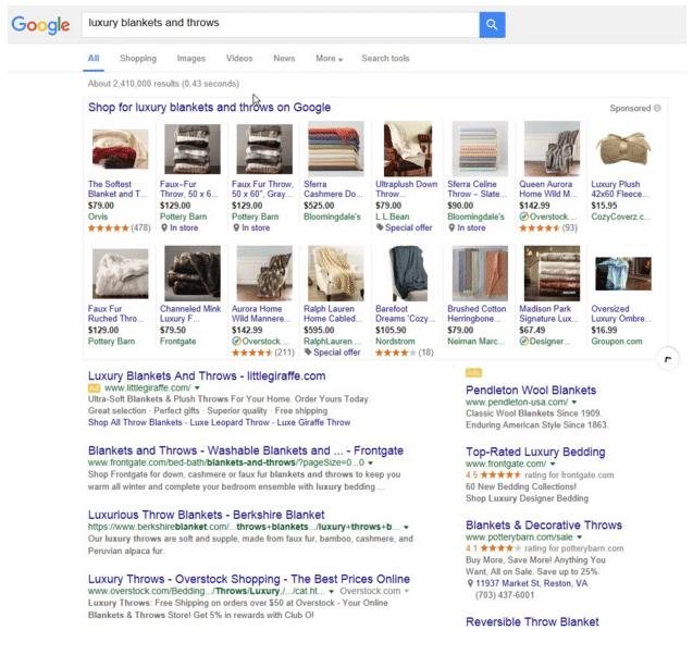 16 produtos google shopping