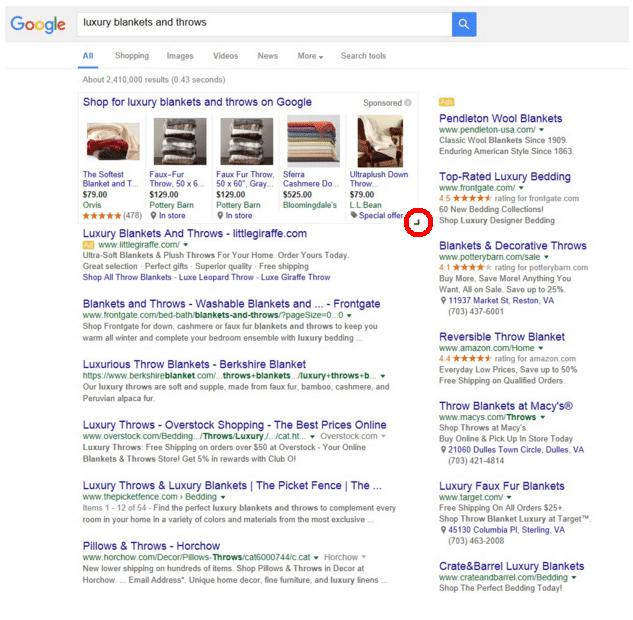 5 produtos google shopping
