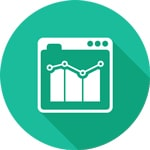 Estimativas de desempenho dos links patrocinados
