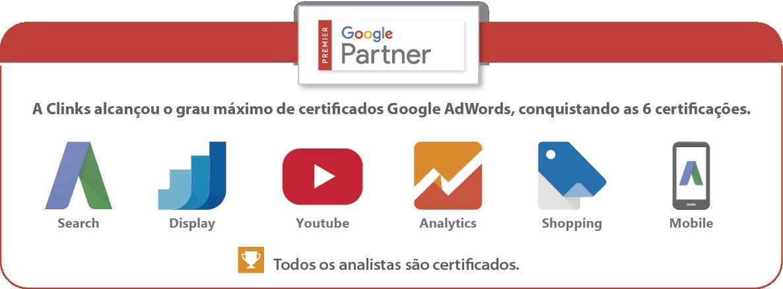 Certificações Google AdWords - 2016