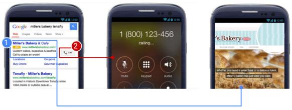 Efetuar ligações mobile via google adwords