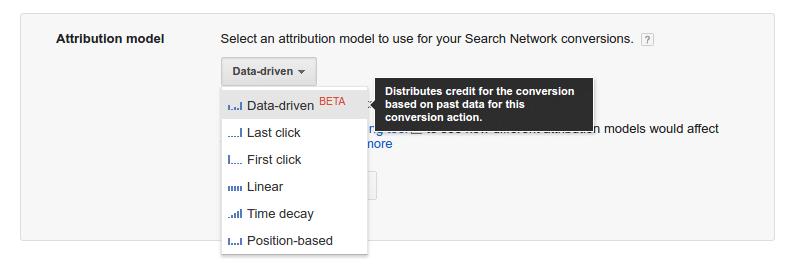 Modelo de atribuição orientado a dados