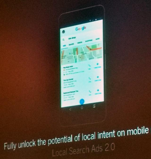 Anúncios google local