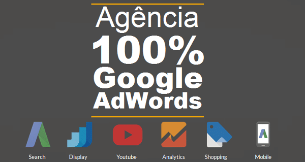 Agência 100% Google AdWords
