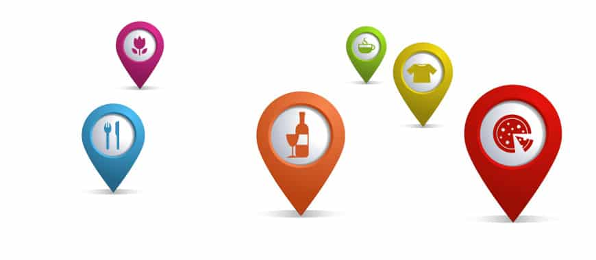 Lugares promovidos google maps