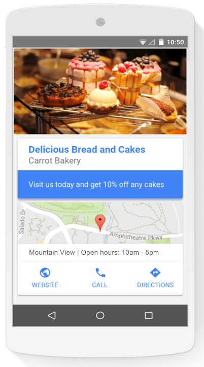 Extensões de local rede display