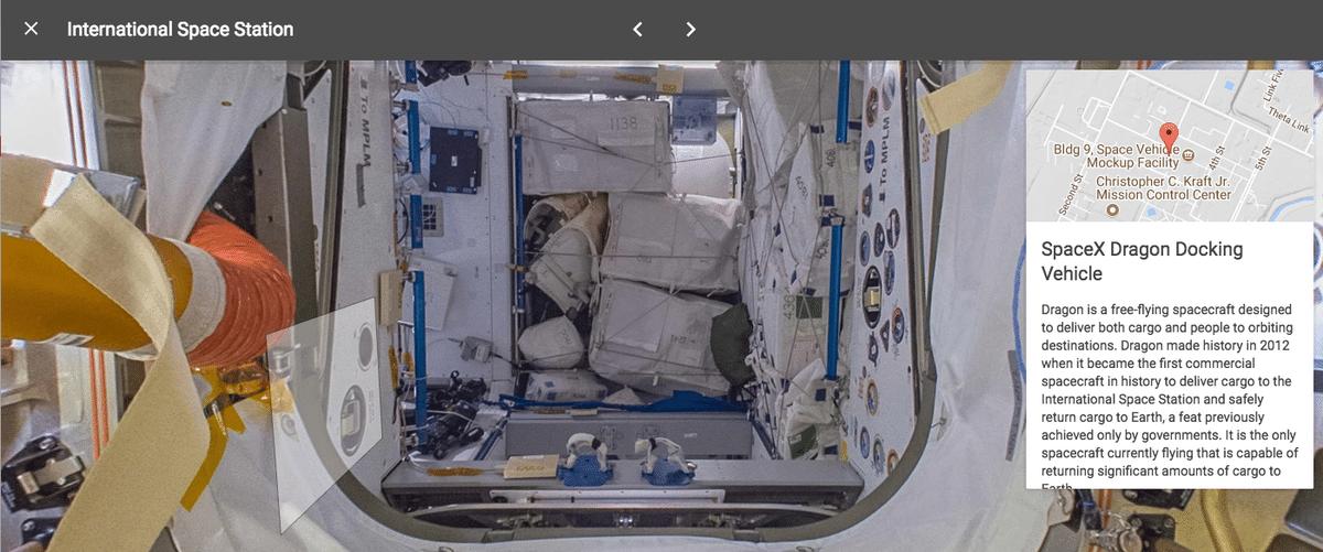 Street View Estação Espacial