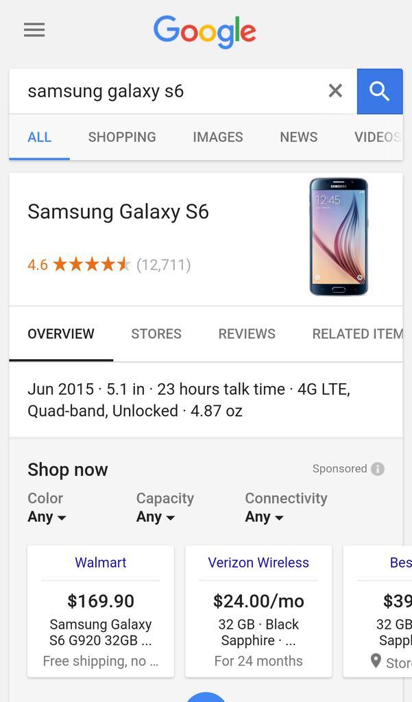 Lista lojas google shopping