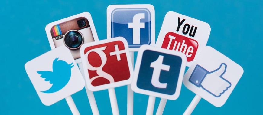 Anunciar mídias sociais