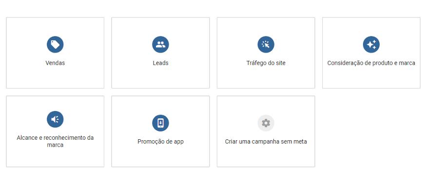 Novo Fluxo de Trabalho do Google Ads Para Criação de Campanhas Baseadas em Metas