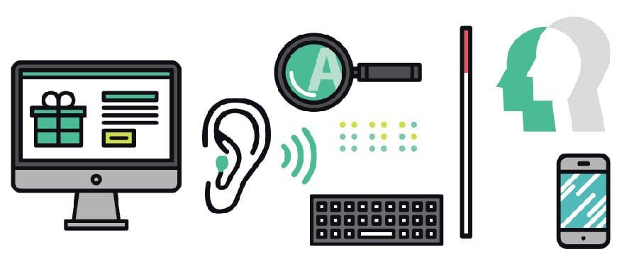 Criar site adaptado para deficientes visuais