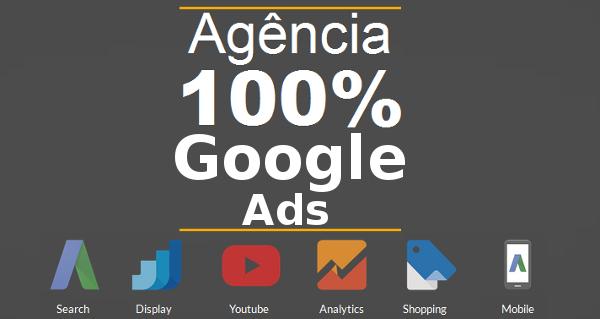 Agência 100 por cento google ads