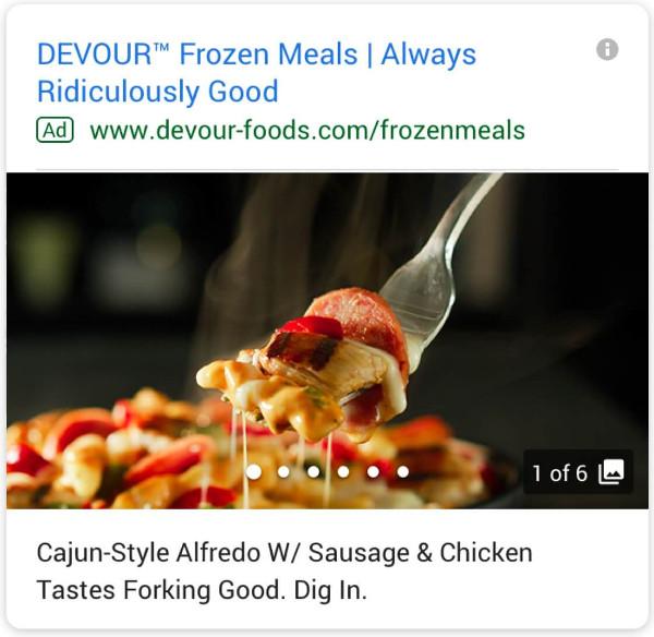 Anúncios de Galeria do Google Ads