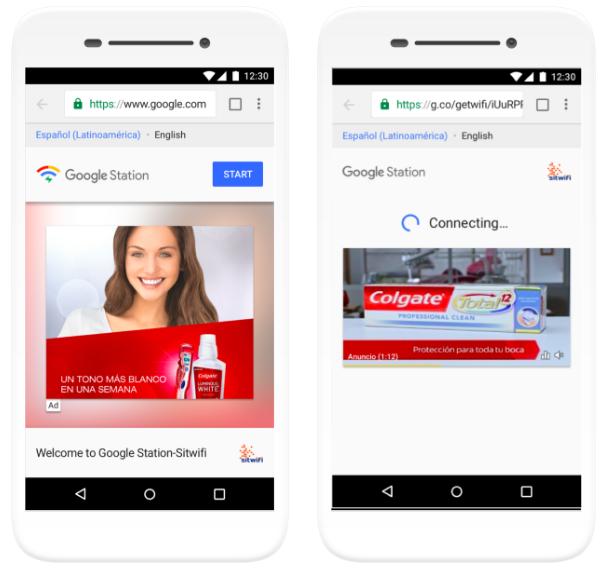 Google Station exibe anúncios de Links Patrocinados