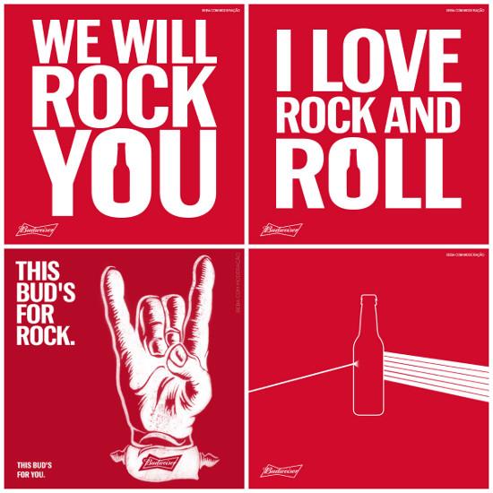 anunciar empresas no dia mundial do rock na Rede de Display