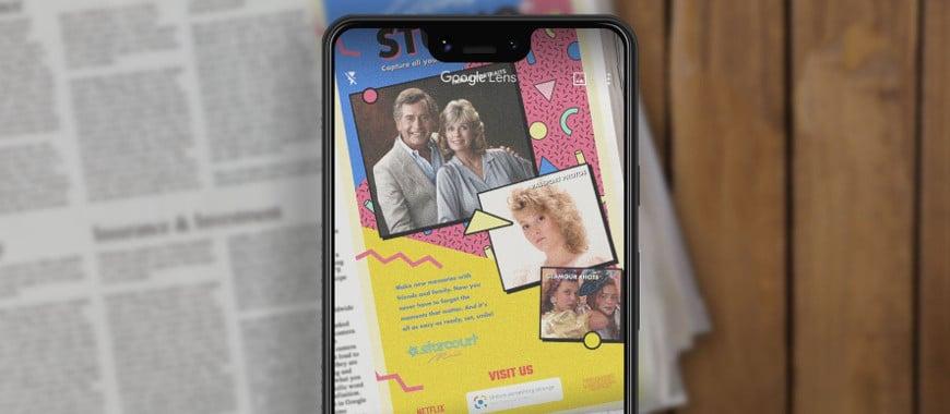 """Anúncio de Jornal de """"Stranger Things 3"""" Ganha Vida Com Google Lens"""