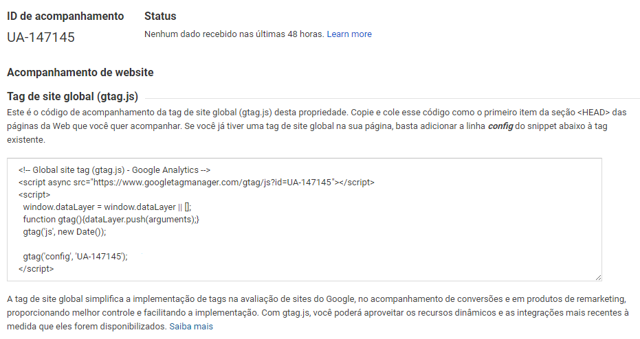 como configurar google analytics