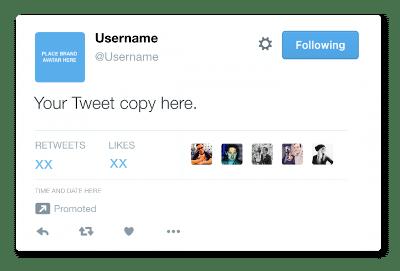 Campanhas engajamento Twitter Ads