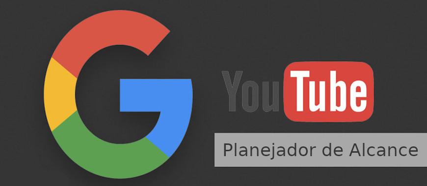 Planejador de alcance youtube google ads