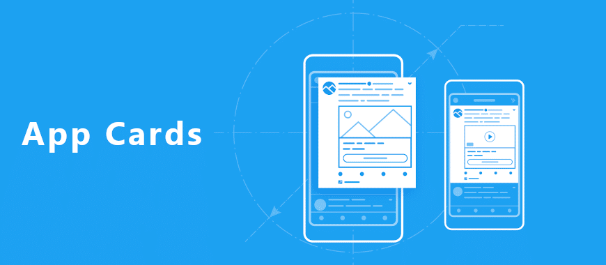 app card para anunciar aplicativos no twitter