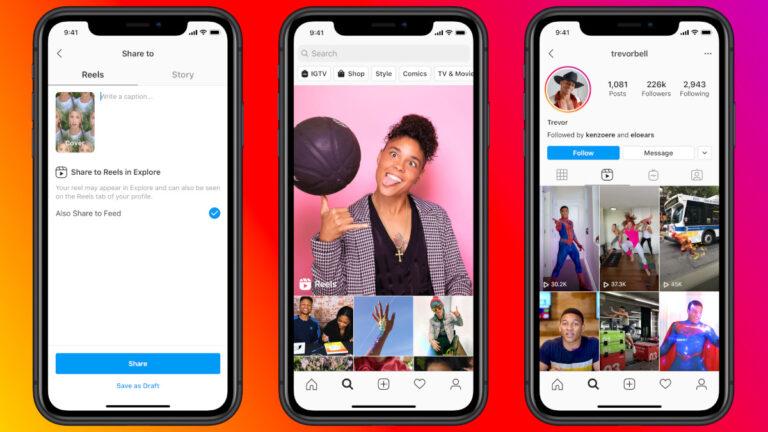 Reels: Instagram lança recurso para bater de frente com TikTok