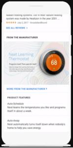 """O Google Manufacturer Center apresenta a seção """"Do Fabricante"""" que traz mais detalhes do produto, sem a necessidade de visitar o site do fabricante."""