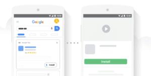 Campanhas para divulgar aplicativos começam a aceitar estratégia de lances ROAS Desejado.