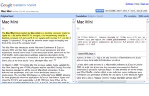 lançamento google translator toolkit