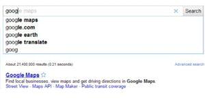 Google começa a exibir anúncios em pré-visualizações do Google Instant.