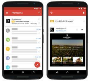 Os anúncios nativos do Gmail se tornam disponíveis para todos os anunciantes.