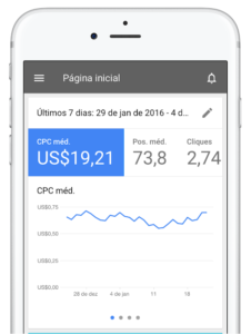 Aplicativo do Google AdWords é lançado para iOS.
