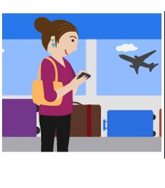 google divulga segmentação por aeroporto