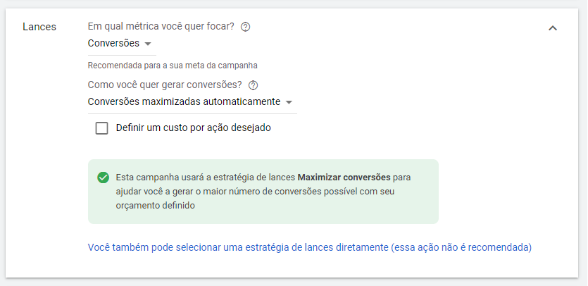 lances na campanha do gmail