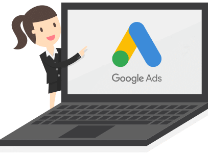 Notebook com logo google ads